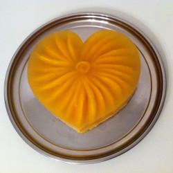 glutenvrije lactosevrije sinaasappel-mango taart